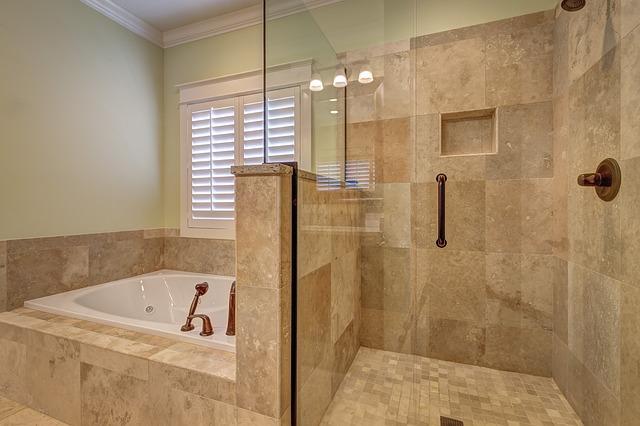 koupelnová zástěna