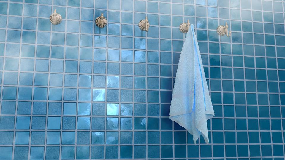 uterák, sprcha